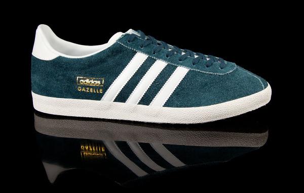 adidas gazelle bleu et vert