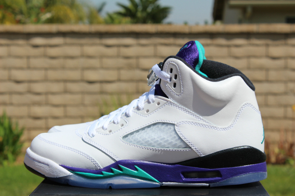 Air Jordan 5 Grape Retro 2013