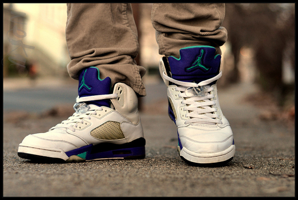 Air Jordan 5 Grape - Nekuserizawa