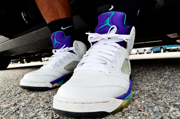 Air Jordan 5 Grape - P Gadia