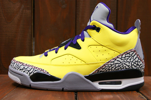Air Jordan Son Of Mars Low Tour Yellow