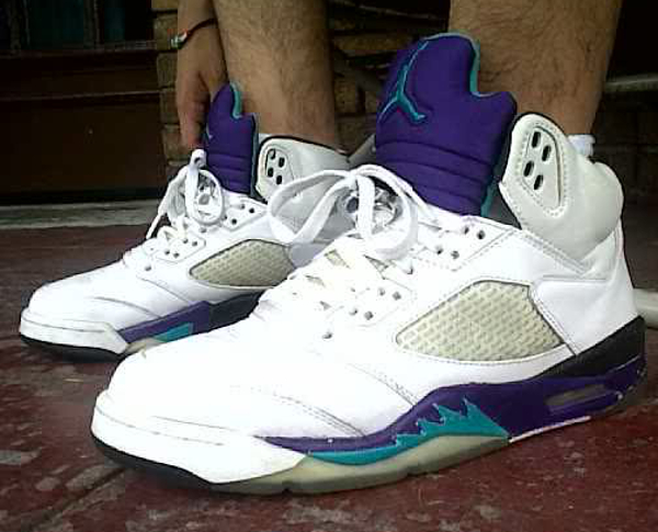 Air Jordan 5 Grape - Beater