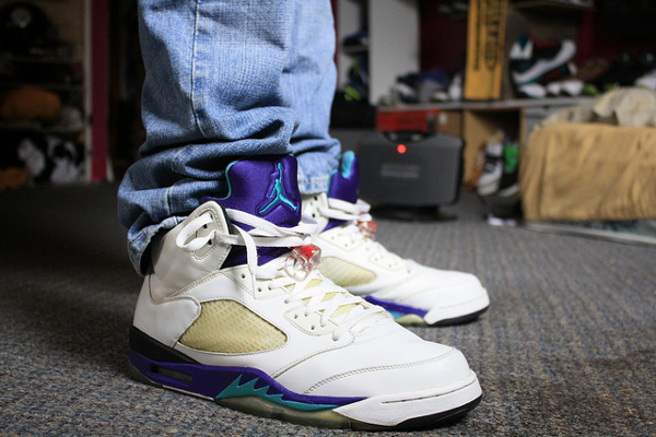 Air Jordan 5 Grape - DJ Mo Fresh