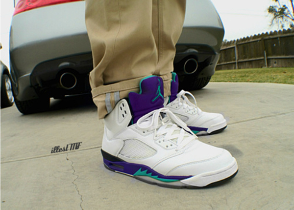 Air Jordan 5 Grape - Illest