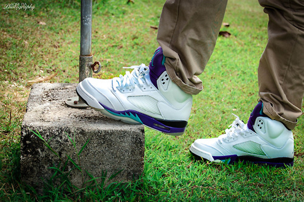 Air Jordan 5 Grape - Jose Gtda