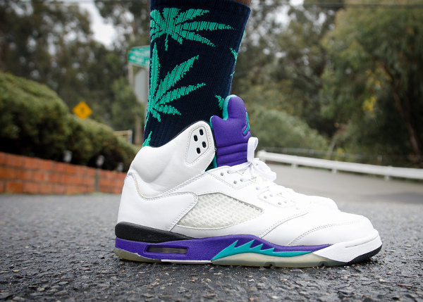 Air Jordan 5 Grape - Sbdunkscarl