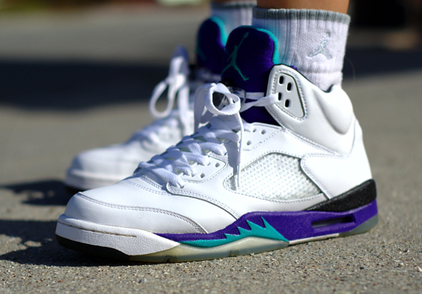 Air Jordan 5 Grape - Verse001