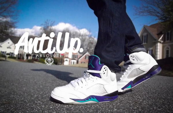 Air Jordan 5 Grape - Woahbryce