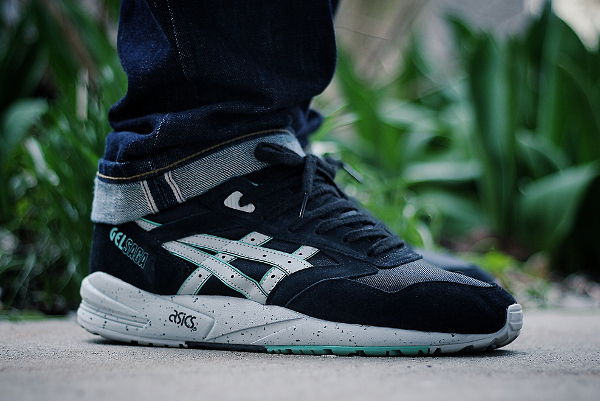 Asics Gel Saga Black/Mint