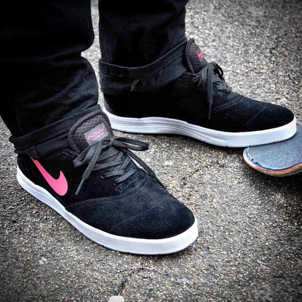 Nike Eric Koston 2 noir et rose