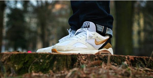 Nike Air 180 White/Gold - J_oner
