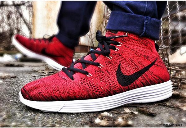 Nike Flyknit Chukka - Tebar