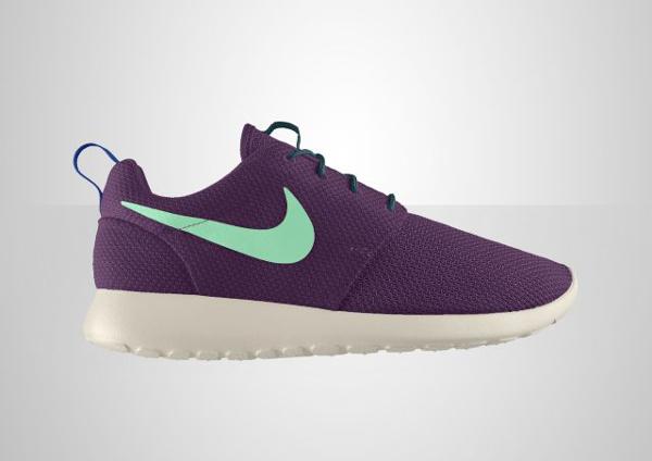 """Nike Roshe Run ID """"Purple/Blue"""""""