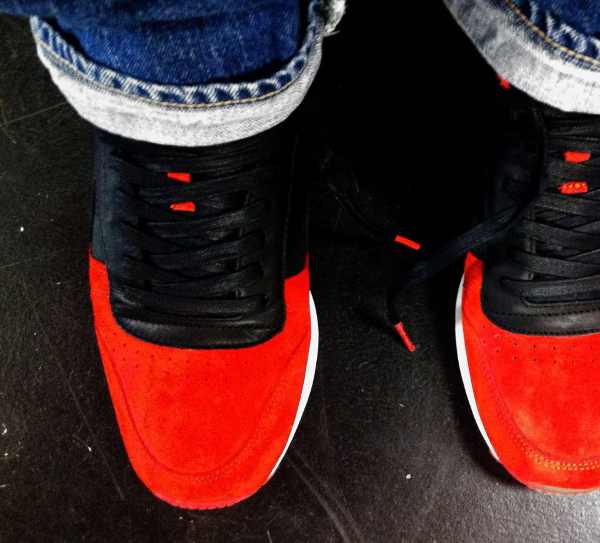 """Reebok Classic Leather """"Red Devils"""""""