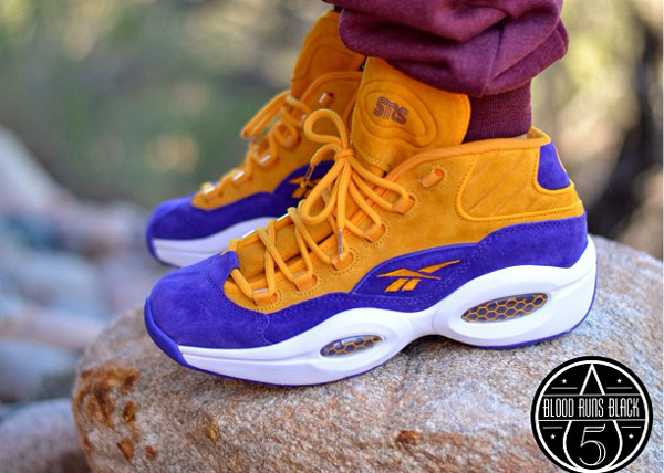 Reebok Question Mid Sneakersntuff Crocus