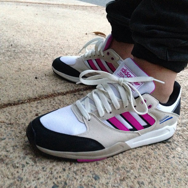 Adidas Tech Super Running White/Bliss/Vivid Pink - Mitchelchristie