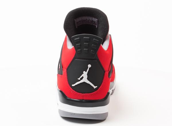 Air Jordan 4 Fire Red Suede