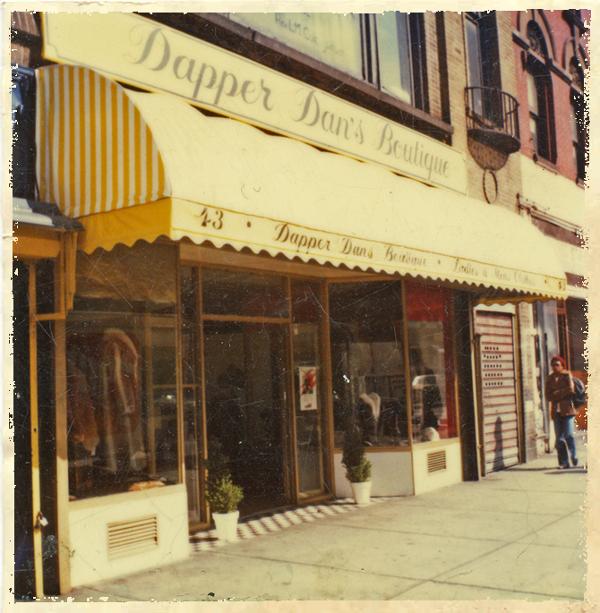 La boutique de Dapper Dan à Harlem
