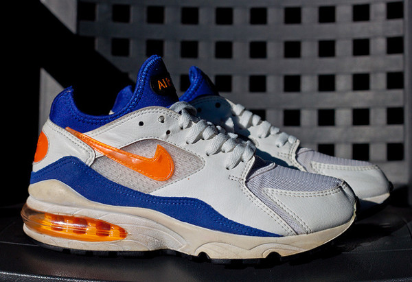 Nike Air Max 93 White/Citrus/Ultramarine
