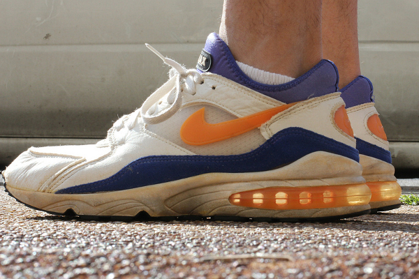 Nike Air Max 93 white-citrus-ultramarine - Airkeung88