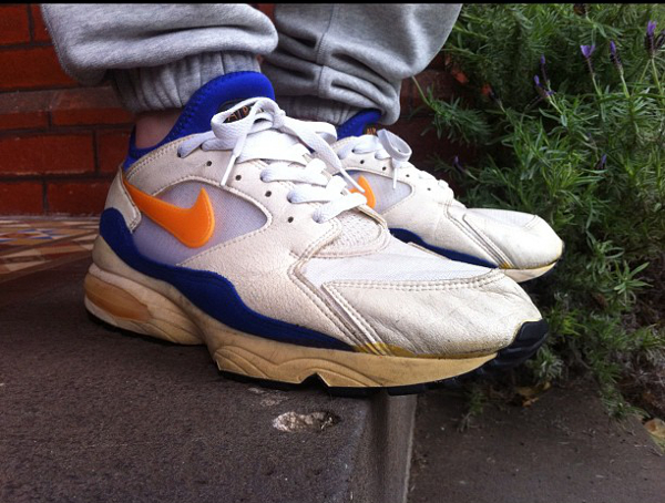 Nike Air Max 93 white-citrus-ultramarine - Max Griffin
