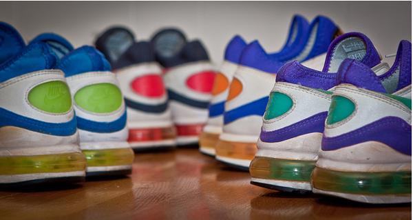 Nike Air Max 93 : les 4 Coloris OG (20ème anniversaire)