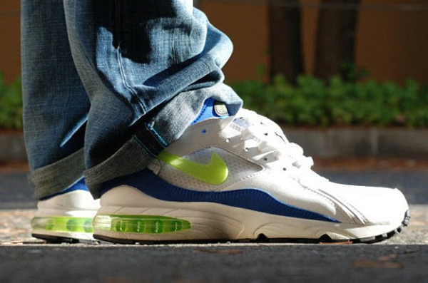 Nike Air Max 93 White/Laser Lime/Royal Blue - Lemon Diesel