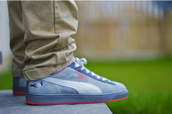 puma suede homme