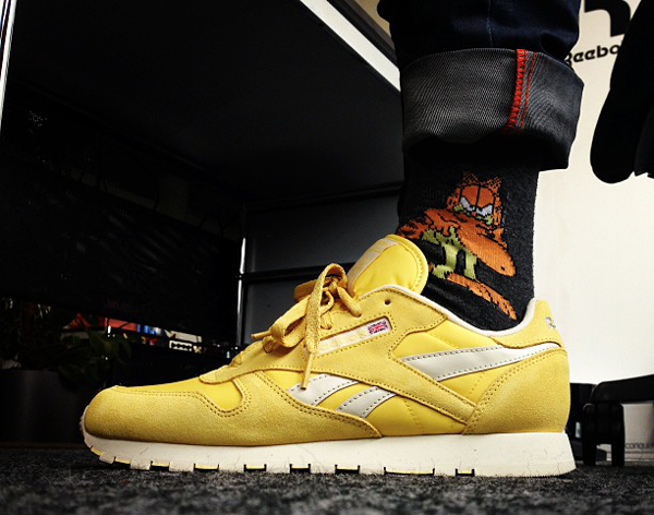 Reebok Classic Leather Pastel Yellow- Glenn Nimi