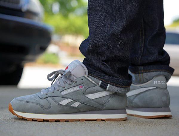 Reebok Classic Leather Grey - Kick Theory