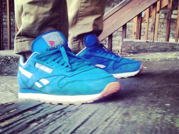 Reebok Classic Leather Pastel Blue - Roy