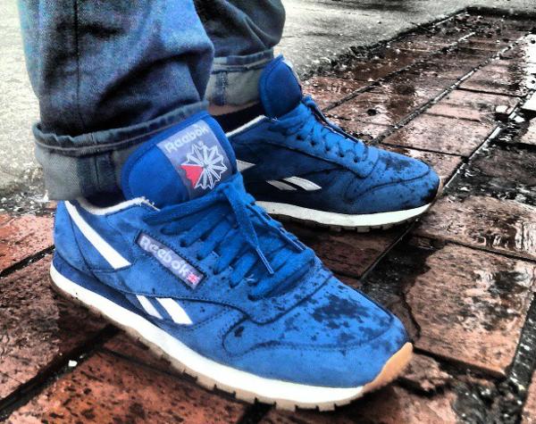 Reebok Classic Leather Blue - Roy