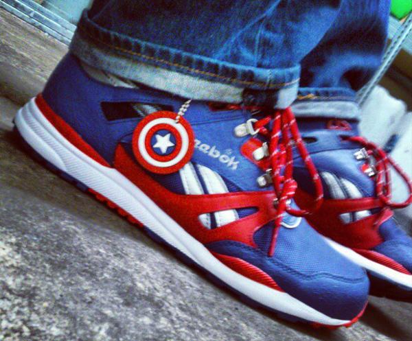 "Reebok Ventilator ""Captain America"""