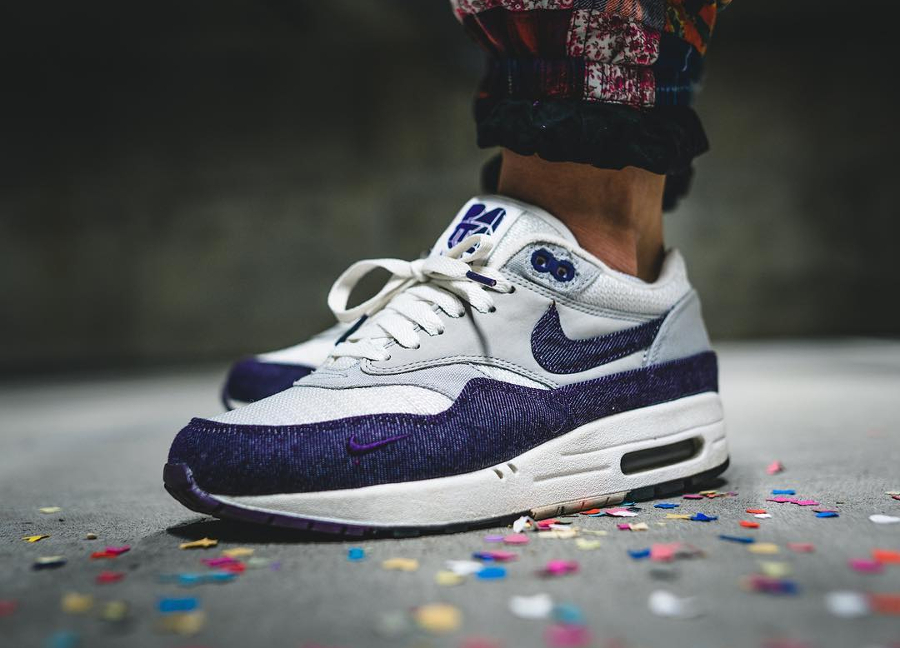 2009 - Patta x Nike Air Max 1 Purple Denim - @marvinilbrunner