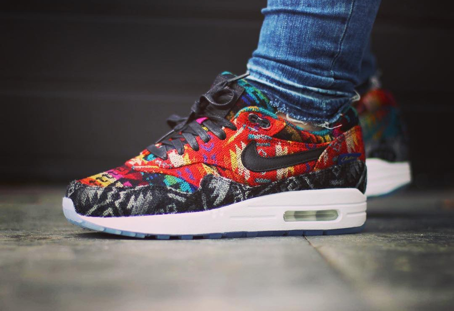 2016 - Nike Air Max 1 ID What The Pendleton - @shoenica
