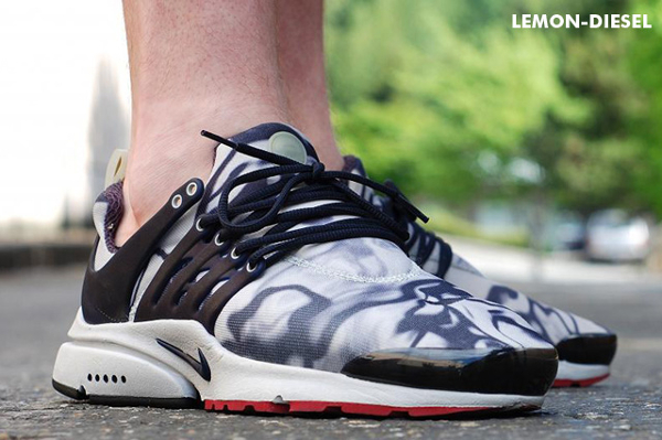 Nike Air Presto Marble - Lemon_Diesel