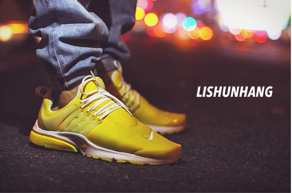 Nike Air Presto Yellow White - Lishunhangagain
