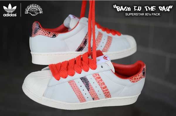 Adidas Superstar 80's Back In The Day