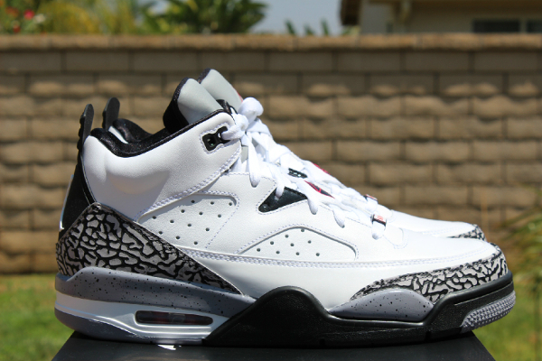 Air Jordan Son Of Mars Low White/Cement