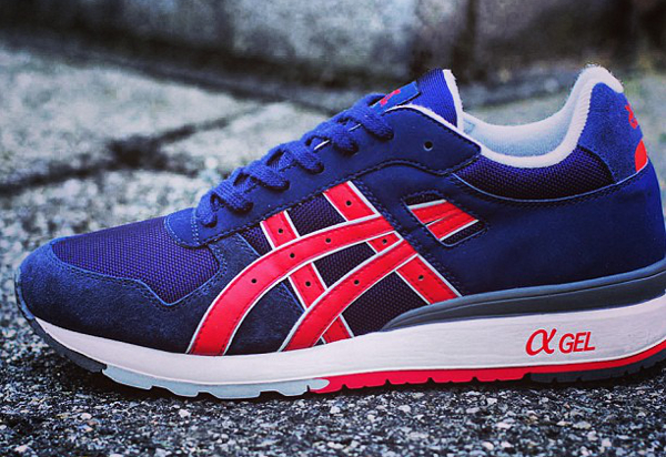 Asics GT 2 Navy/Fiery Red