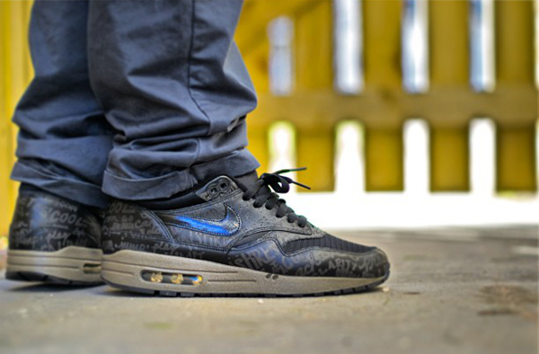Nike Air Max 1 Powerwall Black-S3mgw