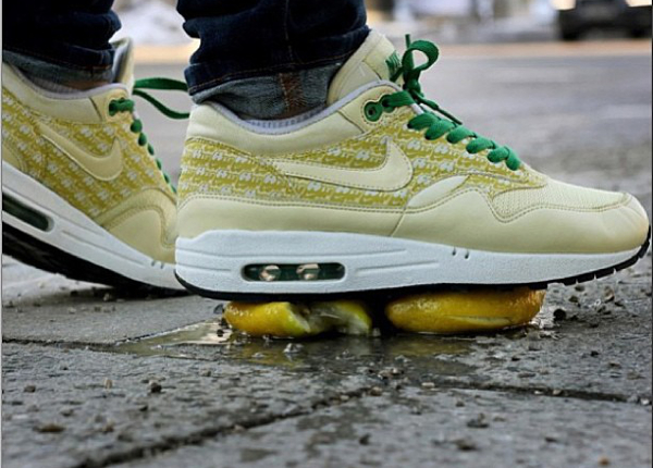 Nike Air Max 1 Powerwall Lemonade - Vonwunderbar