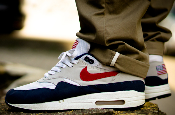 "Nike Air Max 1 Original Mesh ""USA "" - Jaybeezishangintough"