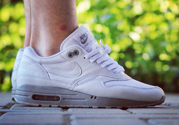 Nike Air Max 1 Powerwall White - Mikee Polo
