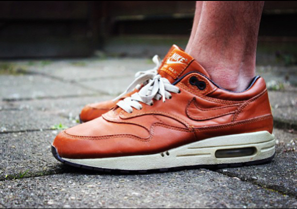 Nike Air Max 1 Leather Curry - Melvfjp