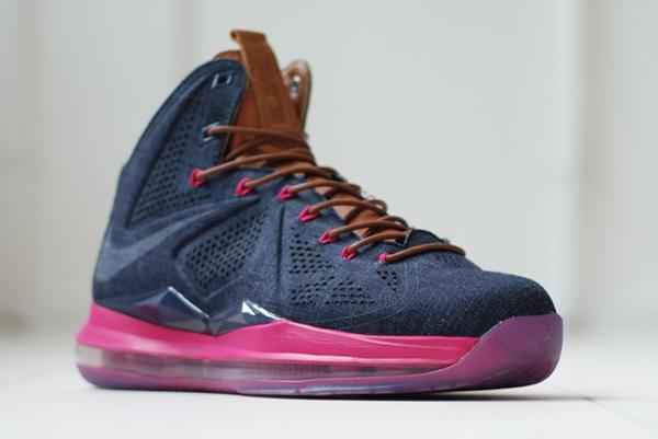 Nike Lebron 10 EXT QS Denim