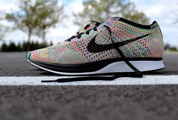 Chaussure Nike Flyknit Racer Multicolor 2016 (1-1)