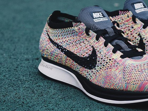 Chaussure Nike Flyknit Racer Multicolor 2016 (2)