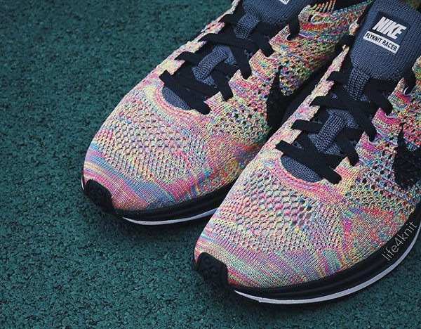 Chaussure Nike Flyknit Racer Multicolor 2016 (4)