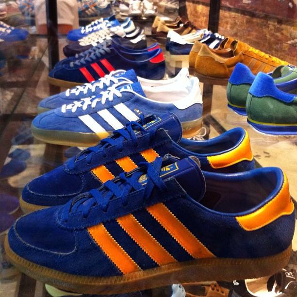 Collector Originals Adidas Spezial Modèles Exposés